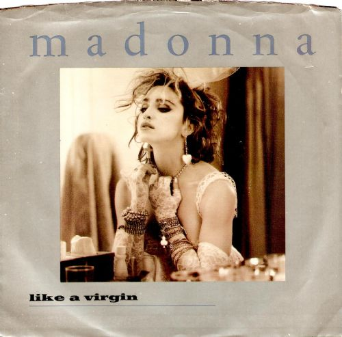 MADONNA Like A Virgin Vinyl Record 7 Inch US Sire 1984